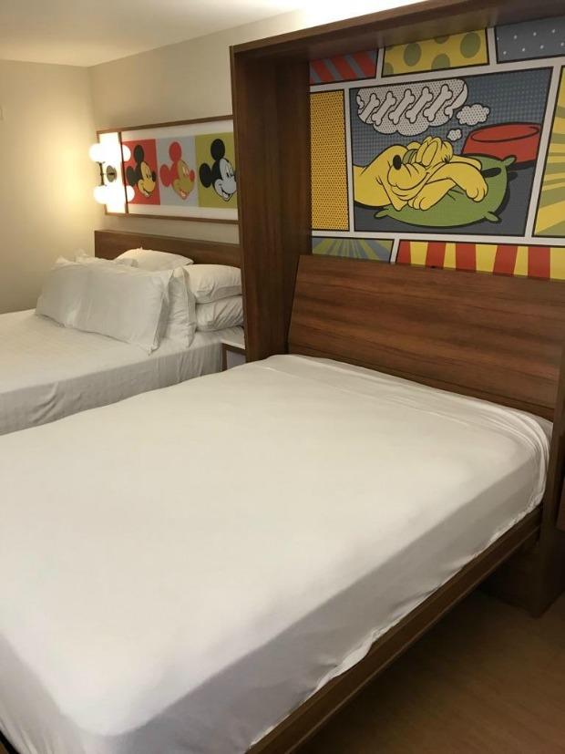 Pop Century Beds Open