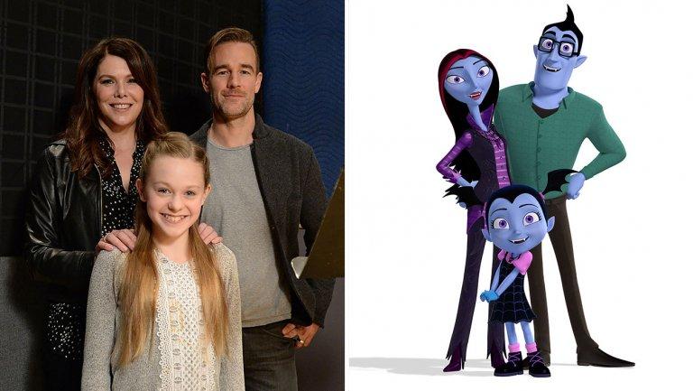 new disney junior show vampirina to feature voices of lauren graham and james van der beek - Disney Jr Halloween Costumes