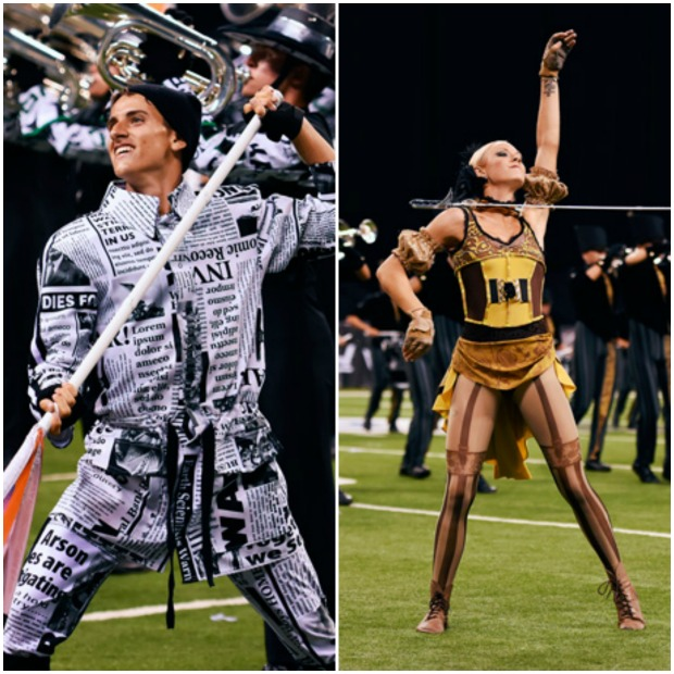 Drum Corps Collage
