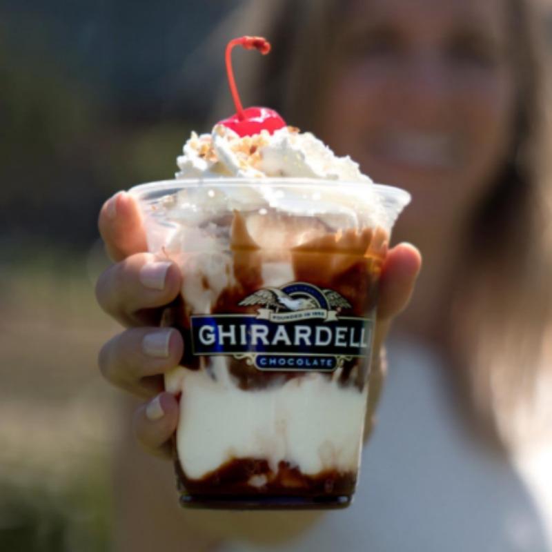 Ghirardelli Sundae