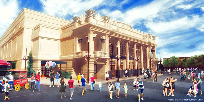 New Magic Kingdom Theater