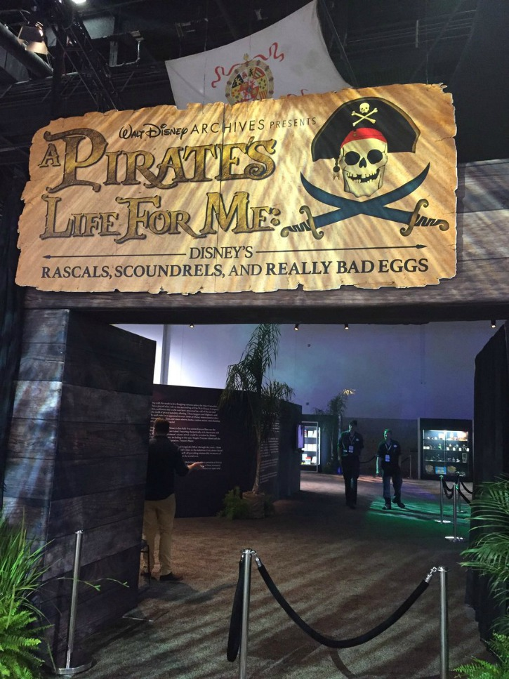 Pirate exhibit