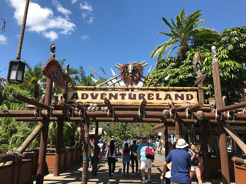 adventureland magic kingdom walt disney world