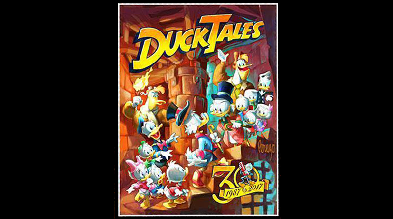 Special Ducktales Painting Available For D23 Expo 2017