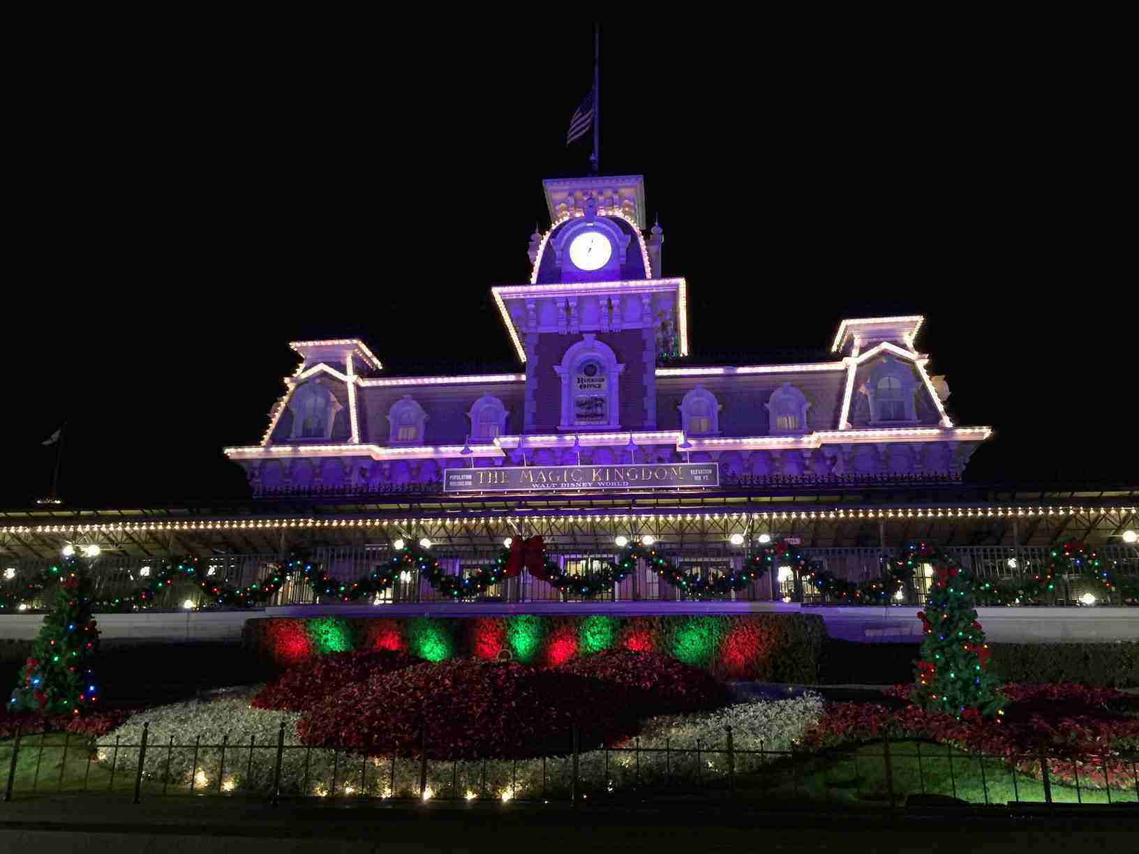 Christmas time at the Magic Kingdom. So far my favorite time of the year