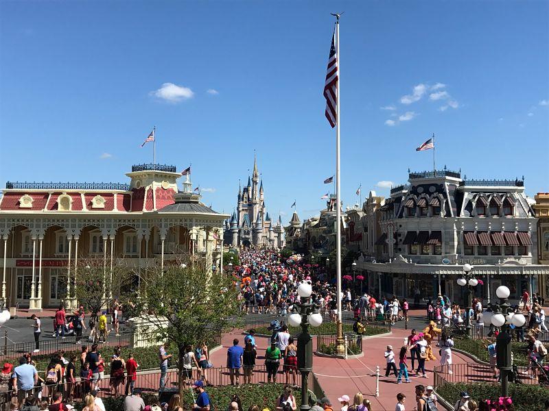 Main Street USA - Walt Disney World Magic Kingdom