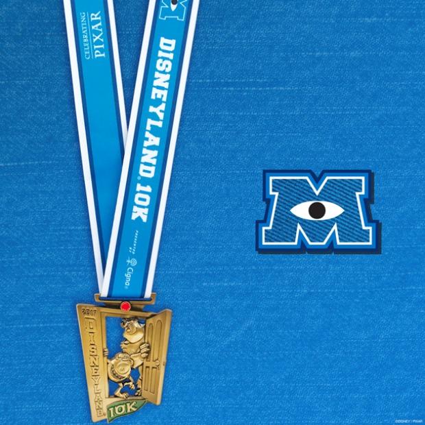 runDisney Disneyland 10K medal