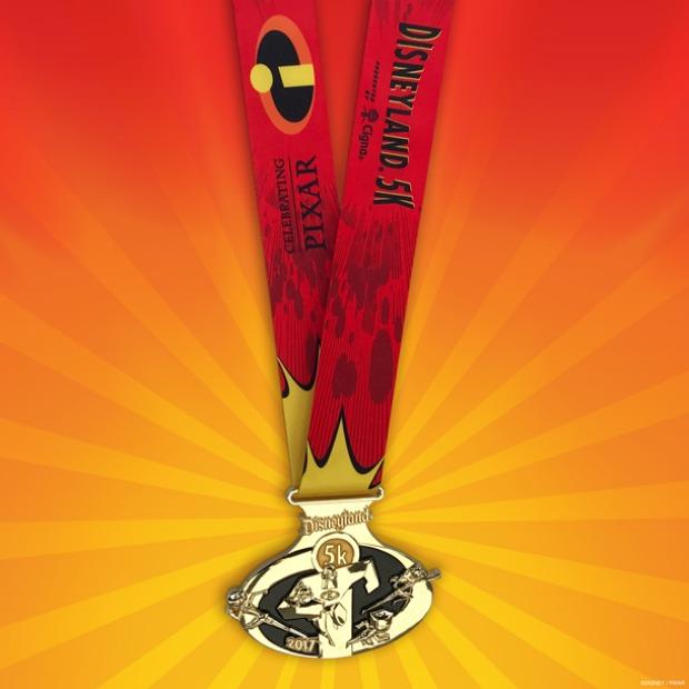 runDisney Disneyland 5K medal