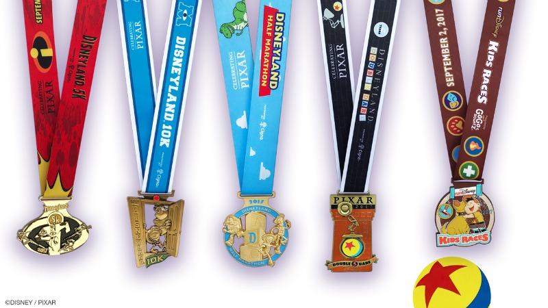 runDisney Disneyland Half Medals