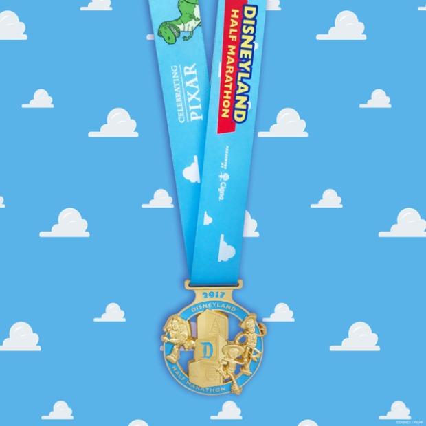 runDisney Disneyland Half medal