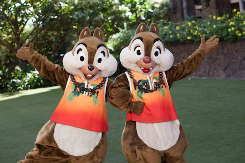 Aulani Chip and Dale