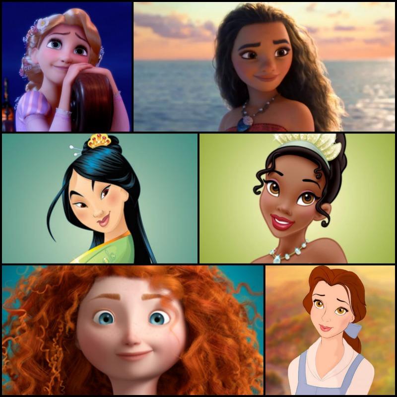 Dream Big Princess Collage