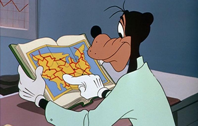 Goofy-map