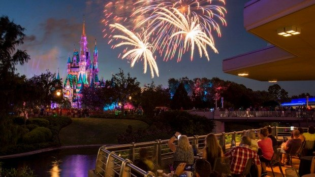 Happily Ever After Fireworks Dessert Party