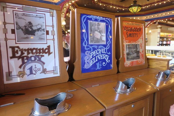 Penny Arcade mutoscopes.