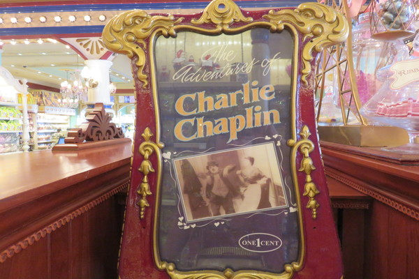 Charlie Chaplin's adventures for one cent!