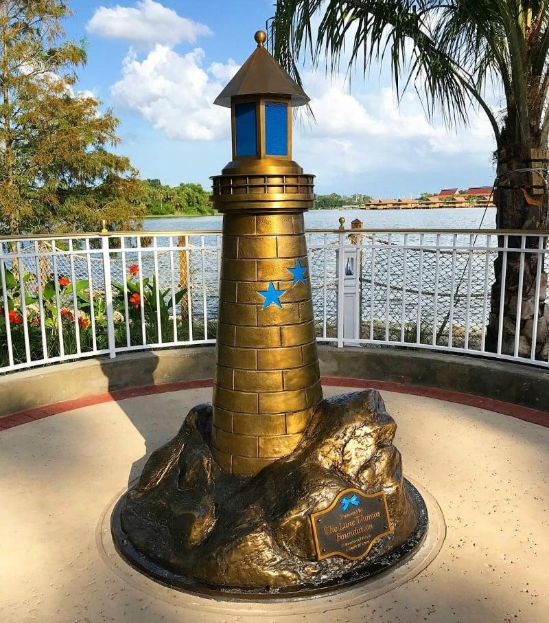 Lane Graves memorial lighthouse