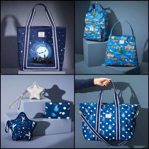 Peter Pan Bags Collage