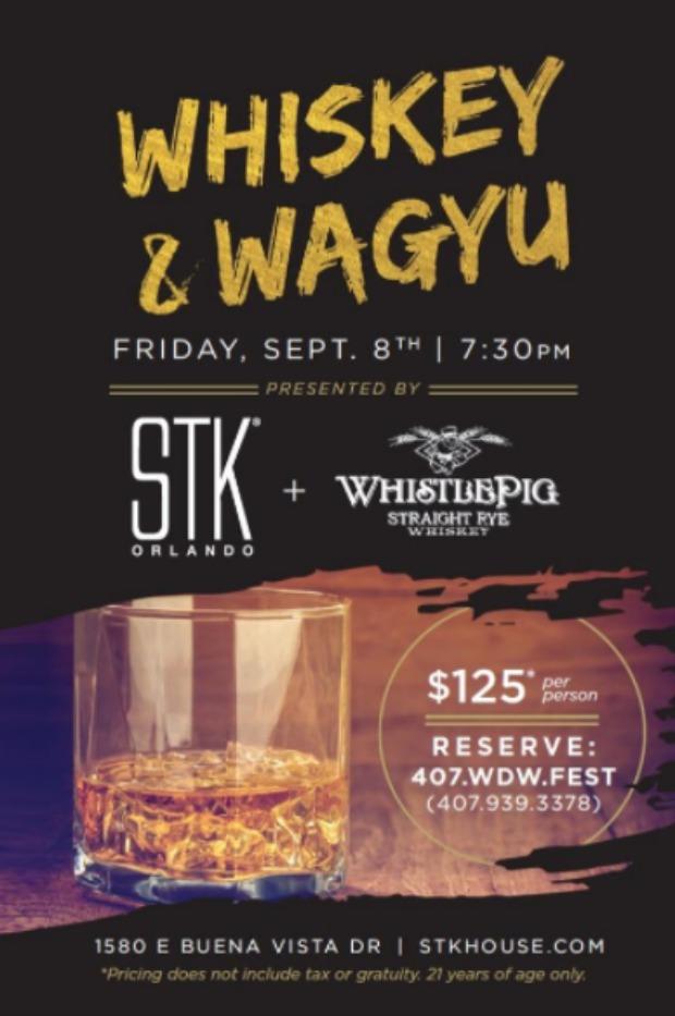 STK Orlando Whiskey & Wagyu