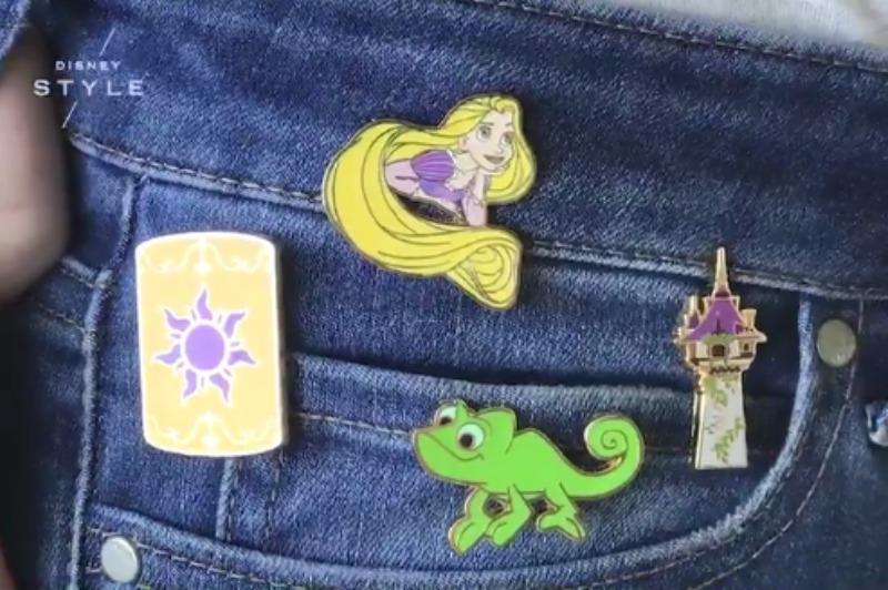 Tangled Disney Pins