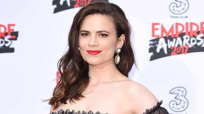 Mandatory Credit: Photo by Steve Vas/Featureflash/Silve/REX/Shutterstock (8524755er) Hayley Atwell Empire Awards, Arrivals, London - 19 March 2017
