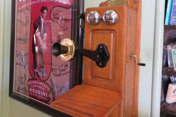 Listen to Harry Houdini, it's magic!