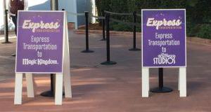 Walt Disney World Eliminates Express Transportation Service