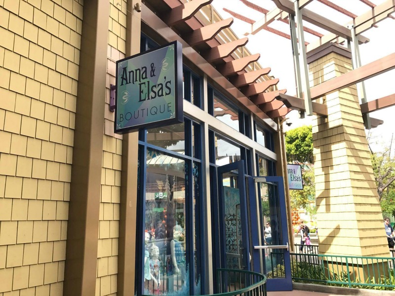 Anna Elsa Boutique Side Storefront