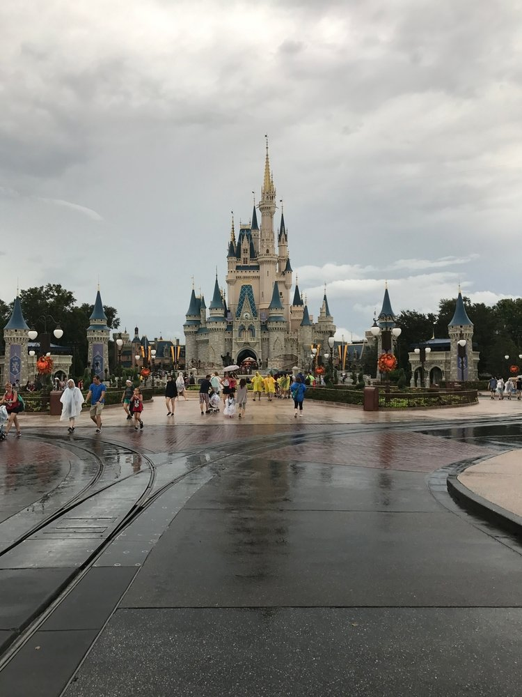 Ashley S Cooke Hurricane Irma Cinderella Castle