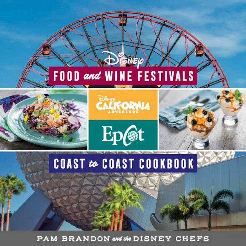 Disney Food Wine Festivals Cookbook Sharp