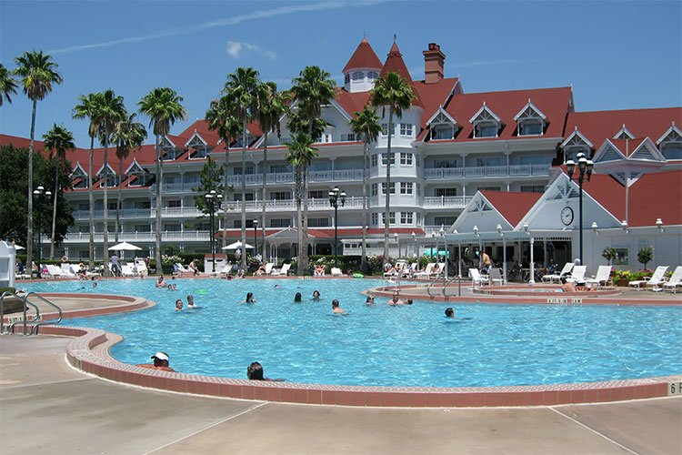 Beaches Pool And Bar Grill At The Grand Floridian Set For Refurbishments