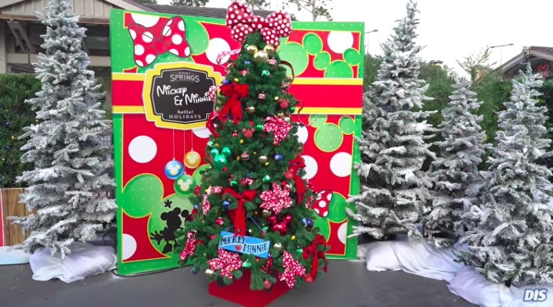 mickey minnie christmas tree - Disney Christmas Tree