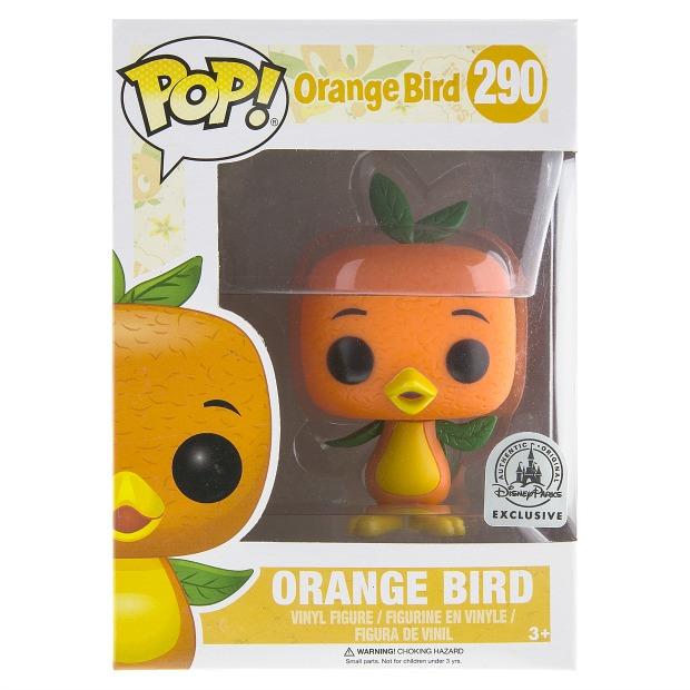 Orange Bird Funko in Box