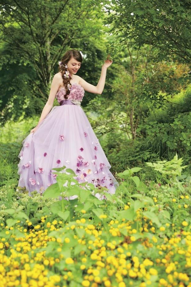 Rapunzel Wedding Gown