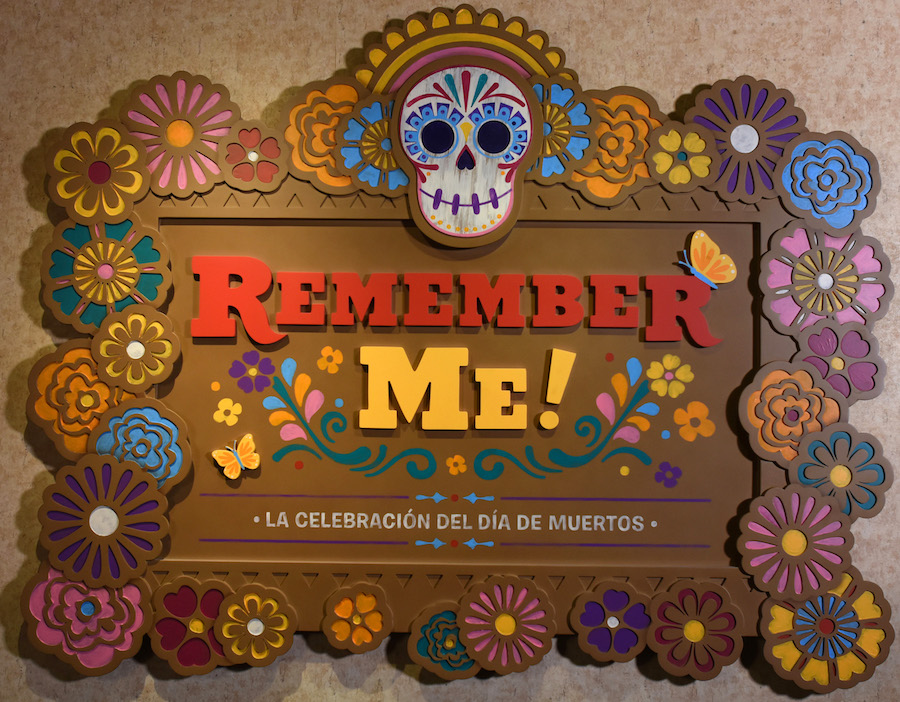 Remember Me Exhibit Sign