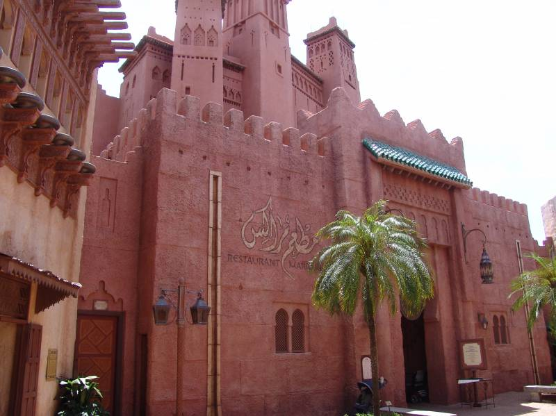 Free Henna Tattoos Being Offered At Restaurant Marrakesh In Epcot