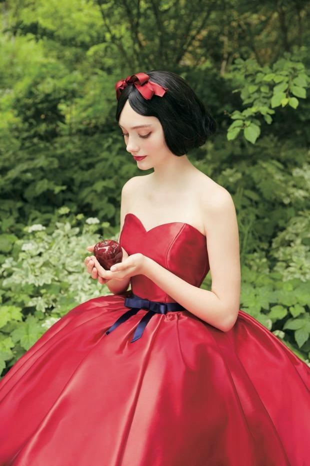 Snow White Wedding Gown