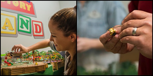 Toy Story Land Model Collage
