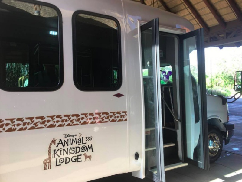 Animal Kingdom Lodge Shuttle
