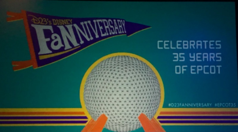 Celebrating 35 years of Epcot