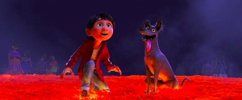 Coco and Dog