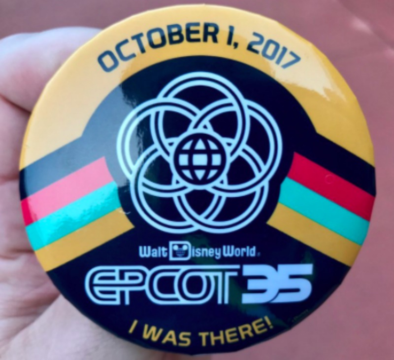 Epcot 35 Button