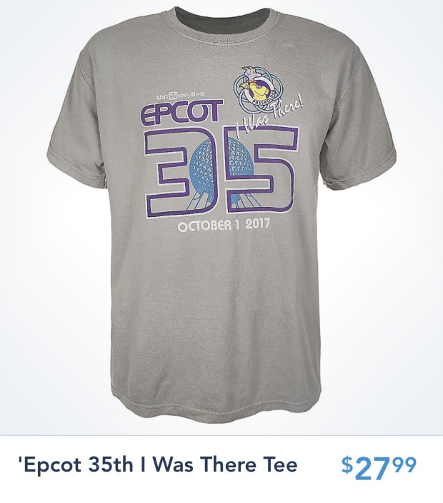 Epcot35 I Was There Tee Front