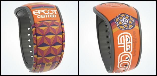 Epcot35 MagicBand Collage