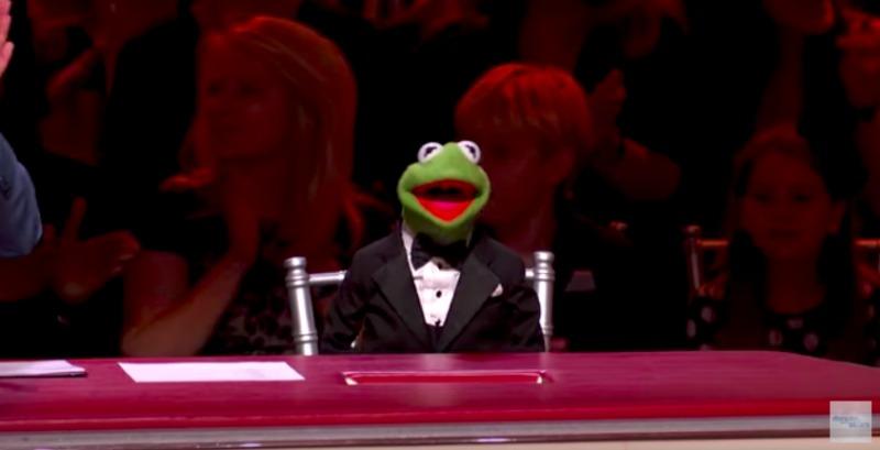 Kermit on DWTS