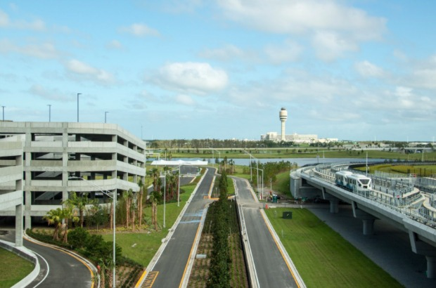 MCO Garage and Tram