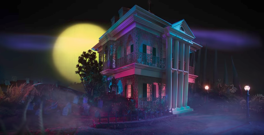 Disneyland S Haunted Mansion Featured In On Air Promos On