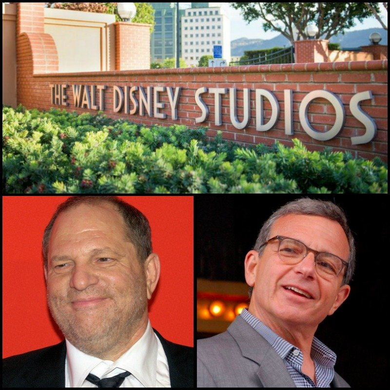 Weinstein Iger WDS Collage