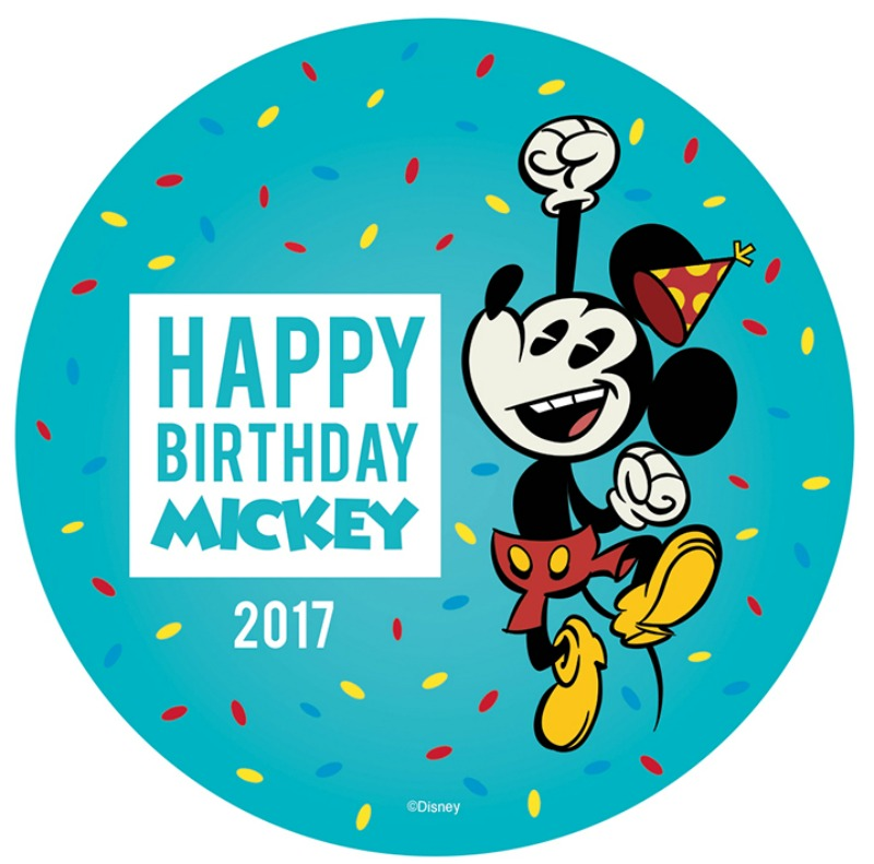 Happy Birthday Mickey 2017