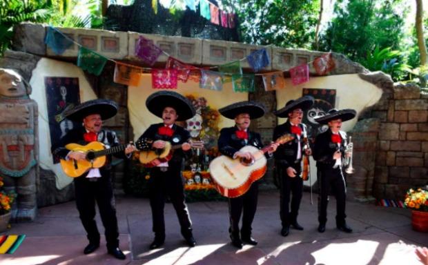 Mariachi Band Mexico Pavilion